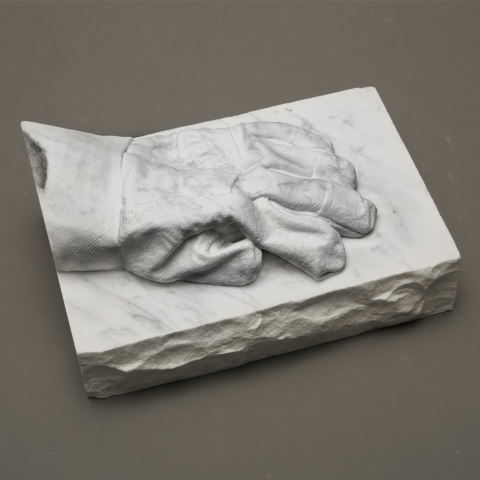 Engineer Glove, marble, 5 x 8 x 11 in.