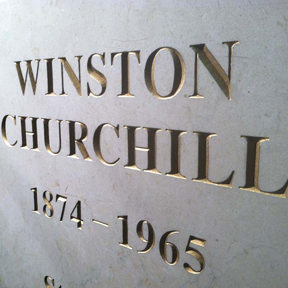 Winston Churchill Base, limestone